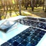 Panele słoneczne do kampera