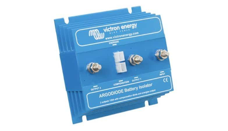 Ładowanie dwóch akumulatorów